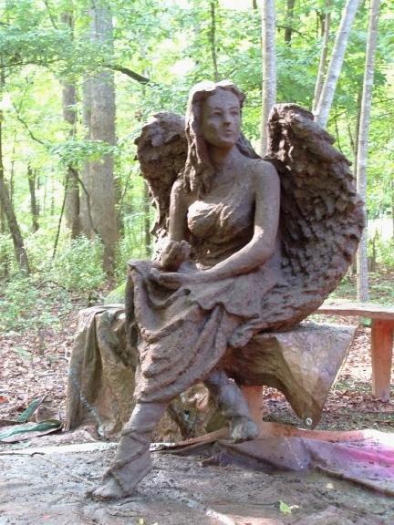 Summer Angel Fountain by Derrick Ivey