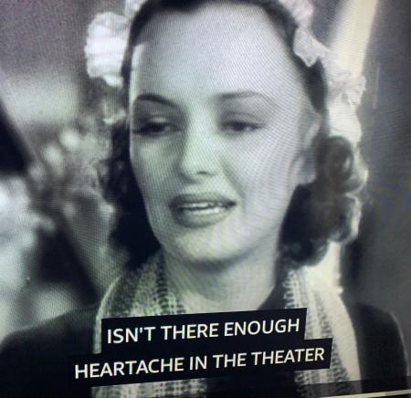 Heartache theater