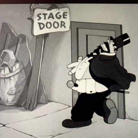 Bluto Stage Door